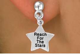 "<bR>              EXCLUSIVELY OURS!!<BR>CLICK HERE TO SEE 120+ EXCITING<BR>  CHANGES THAT YOU CAN MAKE!<BR>              LEAD & NICKEL FREE!!<BR>W487SE - ""REACH FOR THE STARS""<Br>STAR & EARRING FROM $3.25 TO $8.00"