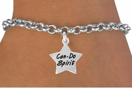 "<bR>               EXCLUSIVELY OURS!!<BR>CLICK HERE TO SEE 120+ EXCITING<BR>   CHANGES THAT YOU CAN MAKE!<BR>              LEAD & NICKEL FREE!!<BR>W488SB - ""CAN-DO SPIRIT"" STAR<BR>      & BRACELET AS LOW AS $4.50"