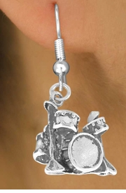 <bR>               EXCLUSIVELY OURS!!<BR>CLICK HERE TO SEE 120+ EXCITING<BR>   CHANGES THAT YOU CAN MAKE!<BR>              LEAD & NICKEL FREE!!<BR>W492SE - DRUM SET & EARRINGS<Br>                   FROM $4.50 TO $8.35