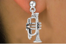 <bR>               EXCLUSIVELY OURS!!<BR>CLICK HERE TO SEE 120+ EXCITING<BR>   CHANGES THAT YOU CAN MAKE!<BR>              LEAD & NICKEL FREE!!<BR> W493SE - TRUMPET & EARRINGS<Br>                   FROM $4.50 TO $8.35