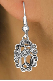 "<bR>              EXCLUSIVELY OURS!!<BR>CLICK HERE TO SEE 120+ EXCITING<BR>   CHANGES THAT YOU CAN MAKE!<BR>              LEAD & NICKEL FREE!!<BR>          W544SE - ""SWEET 16"" &<Br>       EARRINGS FROM $3.25 TO $8.00"