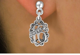 "<bR>              EXCLUSIVELY OURS!!<BR>CLICK HERE TO SEE 120+ EXCITING<BR>   CHANGES THAT YOU CAN MAKE!<BR>              LEAD & NICKEL FREE!!<BR>          W544SE - ""SWEET 16"" &<Br>       EARRINGS FROM $4.50 TO $8.35"