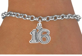 "<bR>               EXCLUSIVELY OURS!!<BR>CLICK HERE TO SEE 120+ EXCITING<BR>   CHANGES THAT YOU CAN MAKE!<BR>              LEAD & NICKEL FREE!!<BR>      W546SB - ""16"" &  BRACELET<Br>                    AS LOW AS $3.25"