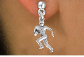 <bR>              EXCLUSIVELY OURS!!<BR>CLICK HERE TO SEE 120+ EXCITING<BR>   CHANGES THAT YOU CAN MAKE!<BR>              LEAD & NICKEL FREE!!<BR>       W551SE - FOOTBALL PLAYER<Br>    ON EARRINGS FROM $4.50 TO $8.35