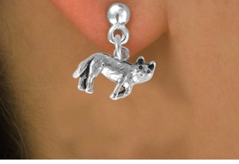<bR>               EXCLUSIVELY OURS!!<BR>CLICK HERE TO SEE 120+ EXCITING<BR>   CHANGES THAT YOU CAN MAKE!<BR>              LEAD & NICKEL FREE!!<BR>      W553SE - WOLF & EARRINGS<Br>                   FROM $4.50 TO $8.35