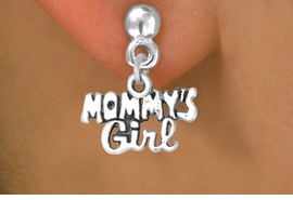 "<bR>             EXCLUSIVELY OURS!!<BR>CLICK HERE TO SEE 125+ EXCITING<BR>  CHANGES THAT YOU CAN MAKE!<BR>            LEAD & NICKEL FREE!!<BR>  W382SE - ""MOMMY'S GIRL"" &<Br>        EARRING FROM $3.25 TO $8.00"