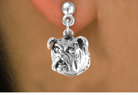 <bR>              EXCLUSIVELY OURS!!<BR>CLICK HERE TO SEE 65+ EXCITING<BR>  CHANGES THAT YOU CAN MAKE!<BR>             LEAD & NICKEL FREE!!<BR>  W212SE - BULLDOG & EARRING<Br>                   FROM $3.25 TO $8.00