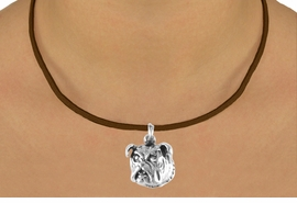 <bR>              EXCLUSIVELY OURS!!<BR> CLICK HERE TO SEE 65+ EXCITING<BR>  CHANGES THAT YOU CAN MAKE!<BR>             LEAD & NICKEL FREE!!<BR>W212SN - BULLDOG & NECKLACE<br>                   AS LOW AS $4.50