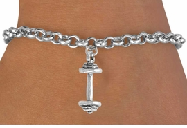 <bR>              EXCLUSIVELY OURS!!<BR>CLICK HERE TO SEE 65+ EXCITING<BR> CHANGES THAT YOU CAN MAKE!<BR>            LEAD & NICKEL FREE!!<BR>W221SB - BARBELL & BRACELET<Br>                 AS LOW AS $3.25