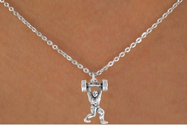 <bR>               EXCLUSIVELY OURS!!<BR>CLICK HERE TO SEE 65+ EXCITING<BR> CHANGES THAT YOU CAN MAKE!<BR>              LEAD & NICKEL FREE!!<BR>     W222SN - WEIGHT-LIFTER &<br>       NECKLACE AS LOW AS $3.65
