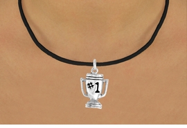 "<bR>              EXCLUSIVELY OURS!!<BR>CLICK HERE TO SEE 65+ EXCITING<BR> CHANGES THAT YOU CAN MAKE!<BR>             LEAD & NICKEL FREE!!<BR>        W233SN - ""#1"" TROPHY & <br>      NECKLACE AS LOW AS $4.50"