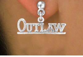 "<bR>              EXCLUSIVELY OURS!!<BR>CLICK HERE TO SEE 65+ EXCITING<BR> CHANGES THAT YOU CAN MAKE!<BR>            LEAD & NICKEL FREE!!<BR>    W237SE - ""OUTLAW"" CHARM<Br>   & EARRINGS FROM $3.25 TO $8.00"
