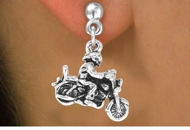<bR>                  EXCLUSIVELY OURS!!<BR>    CLICK HERE TO SEE 65+ EXCITING<BR>      CHANGES THAT YOU CAN MAKE!<BR>                 LEAD & NICKEL FREE!!<BR>       W240SE - MOTORCYCLE BIKER<Br>CHARM & EARRINGS FROM $3.25 TO $8.00