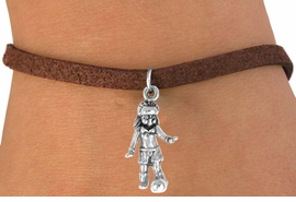 <bR>             EXCLUSIVELY OURS!!<BR>CLICK HERE TO SEE 65+ EXCITING<BR> CHANGES THAT YOU CAN MAKE!<BR>             LEAD & NICKEL FREE!!<BR>        W243SB - SOCCER GIRL &<Br>      BRACELET AS LOW AS $4.50