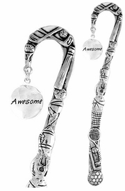 "<bR>              EXCLUSIVELY OURS!!<BR>CLICK HERE TO SEE 65+ EXCITING<BR>  CHANGES THAT YOU CAN MAKE!<BR>             LEAD & NICKEL FREE!!<BR>  W264SBM -  ""AWESOME"" DISC<Br>BOOKMARK FROM $3.31 TO $6.25"