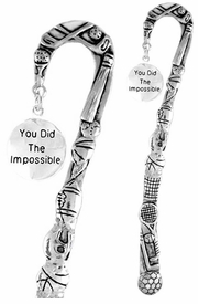 "<bR>              EXCLUSIVELY OURS!!<BR>CLICK HERE TO SEE 65+ EXCITING<BR>  CHANGES THAT YOU CAN MAKE!<BR>             LEAD & NICKEL FREE!!<BR> W266SBM -  ""THE IMPOSSIBLE""<Br>BOOKMARK FROM $3.31 TO $6.25"