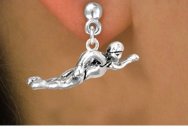 <bR>              EXCLUSIVELY OURS!!<BR>CLICK HERE TO SEE 65+ EXCITING<BR>  CHANGES THAT YOU CAN MAKE!<BR>             LEAD & NICKEL FREE!!<BR> W359SE - FREESTYLE SWIMMER<Br>     & EARRING FROM $3.25 TO $8.00