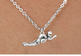 <bR>             EXCLUSIVELY OURS!!<BR>CLICK HERE TO SEE 65+ EXCITING<BR> CHANGES THAT YOU CAN MAKE!<BR>            LEAD & NICKEL FREE!!<BR>W359SN - FREESTYLE SWIMMER<br>   & NECKLACE AS LOW AS $3.65