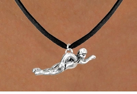 <bR>             EXCLUSIVELY OURS!!<BR>CLICK HERE TO SEE 65+ EXCITING<BR> CHANGES THAT YOU CAN MAKE!<BR>            LEAD & NICKEL FREE!!<BR>W359SN - FREESTYLE SWIMMER<br>   & NECKLACE AS LOW AS $4.50