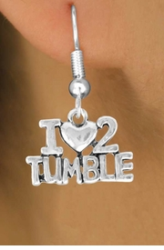 "<bR>              EXCLUSIVELY OURS!!<BR>CLICK HERE TO SEE 65+ EXCITING<BR> CHANGES THAT YOU CAN MAKE!<BR>             LEAD & NICKEL FREE!!<BR> W365SE - ""I LOVE 2 TUMBLE"" &<Br>       EARRING FROM $3.25 TO $8.00"