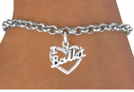 "<bR>             EXCLUSIVELY OURS!!<BR>CLICK HERE TO SEE 65+ EXCITING<BR> CHANGES THAT YOU CAN MAKE!<BR>            LEAD & NICKEL FREE!!<BR>    W412SB - ""I LOVE BALLET"" &<BR>      BRACELET AS LOW AS $4.50"