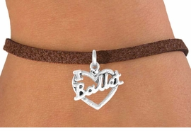 "<bR>             EXCLUSIVELY OURS!!<BR>CLICK HERE TO SEE 65+ EXCITING<BR> CHANGES THAT YOU CAN MAKE!<BR>            LEAD & NICKEL FREE!!<BR>    W412SB - ""I LOVE BALLET"" &<BR>      BRACELET AS LOW AS $3.25"