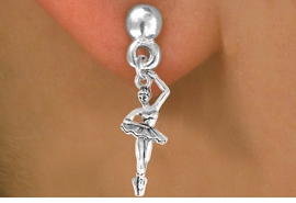 <bR>             EXCLUSIVELY OURS!!<BR>CLICK HERE TO SEE 65+ EXCITING<BR> CHANGES THAT YOU CAN MAKE!<BR>            LEAD & NICKEL FREE!!<BR>W416SE - BALLERINA & EARRING<Br>                FROM $3.25 TO $8.00