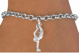 "<bR>              EXCLUSIVELY OURS!!<BR>CLICK HERE TO SEE 65+ EXCITING<BR> CHANGES THAT YOU CAN MAKE!<BR>             LEAD & NICKEL FREE!!<BR>       W429SB - ""ICE SKATER"" &<BR>      BRACELET AS LOW AS $4.50"