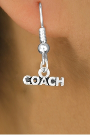 "<bR>             EXCLUSIVELY OURS!!<Br>            LEAD & NICKEL FREE!!<BR>CLICK HERE TO SEE 65+ EXCITING<BR> CHANGES THAT YOU CAN MAKE!<BR>W234SE - ""COACH"" & EARRINGS<Br>                 FROM $3.25 TO $8.00"