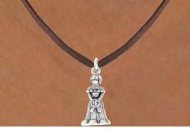<bR>              EXCLUSIVELY OURS!!<Br>             LEAD & NICKEL FREE!!<BR> W250SN - QUINCEAÑERA CHARM<Br>    & NECKLACE AS LOW AS $3.65