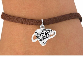 "<bR>       EXCLUSIVELY OURS!!<Br>      LEAD & NICKEL FREE!!<BR>    W353SB - ""CAPTAIN"" &<Br>BRACELET AS LOW AS $4.50"