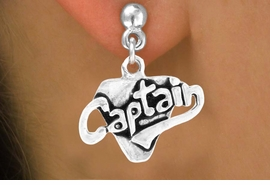 "<bR>         EXCLUSIVELY OURS!!<Br>        LEAD & NICKEL FREE!!<BR>      W353SE - ""CAPTAIN"" &<Br> EARRINGS FROM $4.50 TO $8.35"