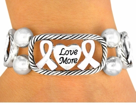 <br>                   EXCLUSIVELY OURS!<br>      W9716B - POLISHED SILVER FINISH<br>         INSPIRATIONAL PHR  ASE HEART &<Br>            AWARENESS RIBBON STRETCH<Br>                    BRACELET FROM $1.47<BR>MINIMUM QUANTITY 10 BRACELETS  ©2008 <br>          NO ADDITIONAL DISCOUNTS APPLY