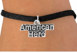 <BR>                   LEAD AND NICKEL FREE!  <BR>                   ASSEMBLED IN THE USA<BR>         CLICK HERE TO SEE 500+ EXCITING<BR>             CHANGES THAT YOU CAN MAKE!<BR>             W813SB - AMERICAN HERO CHARM <Br>           & BRACELET FROM $3.25 TO $7.50