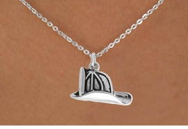 <BR>            LEAD AND NICKEL FREE!  <BR>             ASSEMBLED IN THE USA<BR>  CLICK HERE TO SEE 500+ EXCITING<BR>   CHANGES THAT YOU CAN MAKE!<BR>          W816SN - FIREMAN HELMET<Br>    NECKLACE FROM $3.65 TO $7.50