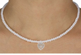 """<Br>             LEAD & NICKEL FREE!!<Br>              EXCLUSIVELY OURS!!<Br>        AN ALLAN ROBIN DESIGN!!<br>W14708N - CHILDREN'S 13"""" FAUX<br> HEART WITH A CROSS NECKLACE<Br>               FROM $6.19 TO $13.75"""