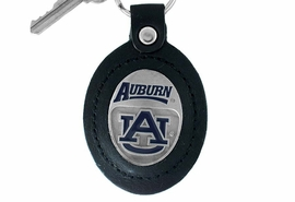 <Br>                LEAD & NICKEL FREE!!<BR>       OFFICIAL COLLEGE LICENSED!!<Br>   W15198KC - AUBURN UNIVERSITY<Br>    TIGERS GENUINE BLACK LEATHER<bR>FRAMED KEY CHAIN AS LOW AS $5.78