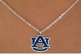 <Br>               LEAD & NICKEL FREE!!<Br>     OFFICIAL COLLEGE LICENSED!!!<Br>   W15199N - AUBURN UNIVERSITY<Br>TIGERS NECKLACE AS LOW AS $4.20