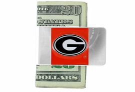 <Br>                      LEAD & NICKEL FREE!<Br>           OFFICIAL COLLEGE LICENSED!!<Br>   W15894MC - UNIVERSITY OF GEORGIA<Br>                  BULLDOGS MONEY CLIP<BR>                   FROM $2.99