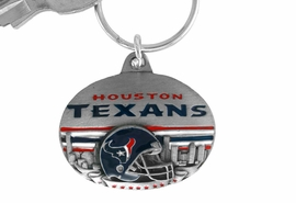 <bR>          LEAD & NICKEL FREE!!!<br>       OFFICIAL NFL LICENSED!!<br>NATIONAL FOOTBALL LEAGUE!!<Br>W15119KC - HOUSTON TEXANS<BR>   KEY CHAIN AS LOW AS $2.99