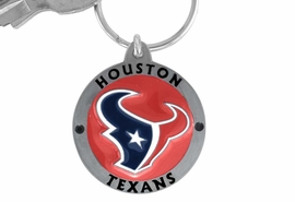 <bR>          LEAD & NICKEL FREE!!!<br>       OFFICIAL NFL LICENSED!!<br>NATIONAL FOOTBALL LEAGUE!!<Br>W15121KC - HOUSTON TEXANS<BR>   KEY CHAIN AS LOW AS $2.99