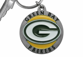 <bR>            LEAD & NICKEL FREE!!!<br>         OFFICIAL NFL LICENSED!!<br>   NATIONAL FOOTBALL LEAGUE!!<Br>   W19003KC - GREEN BAY PACKERS <BR> KEY CHAIN FROM $5.06 TO $11.25