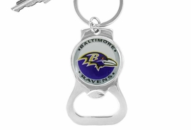 <Br>             LEAD & NICKEL FREE!!<BR>         OFFICIAL NFL LICENSED!!<Br>W16705KC - BALTIMORE RAVENS<Br>    KEY CHAIN & BOTTLE OPENER<Br>            FROM $2.81 TO $6.25