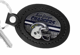 <Br>               LEAD & NICKEL FREE!!<BR>           OFFICIAL NFL LICENSED!!<Br>   W19669KC - SAN DIEGO CHARGERS <Br>GENUINE BLACK LEATHER FRAMED<Br>KEY CHAIN FROM $4.99