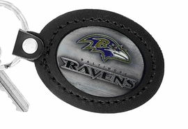 <Br>               LEAD & NICKEL FREE!!<BR>           OFFICIAL NFL LICENSED!!<Br>   W19681KC - BALTIMORE RAVENS <Br>GENUINE BLACK LEATHER FRAMED<Br>KEY CHAIN FROM $4.99