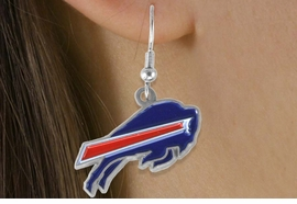 <bR>             LEAD & NICKEL FREE!!<Br>            OFFICIALLY LICENSED!!<Br>   NATIONAL FOOTBALL LEAGUE!!<Br>       W14865E - BUFFALO BILLS<Br>LOGO EARRINGS AS LOW AS $4.73