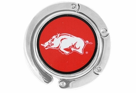 <BR>                  LEAD & NICKEL FREE!!<br>                OFFICIALLY LICENSED!!<br>          W17199BH - UNIVERSITY OF <Br>             ARKANSAS LOGO PURSE <BR>         HOLDER FROM $3.99
