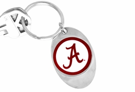 "<Br>                LEAD & NICKEL FREE!!<Br>          STERLING SILVER PLATED!!<bR>  W14037KC - LICENSED UNIVERSITY<Br>OF ALABAMA ""CRIMSON TIDE"" LOGO<Br>    KEY CHAIN FROM $1.99"