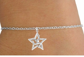 <Br>             LEAD & NICKEL FREE!!<BR>W14594B - GYMNAST STAG LEAP<Br>   CHILDREN'S CHAIN BRACELET<BR>                 AS LOW AS $3.25<BR>                        �2008