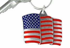 <Br>             LEAD & NICKEL FREE!!!<Br>W15080KC - UNITED STATES FLAG<br>       KEY CHAIN AS LOW AS $4.73
